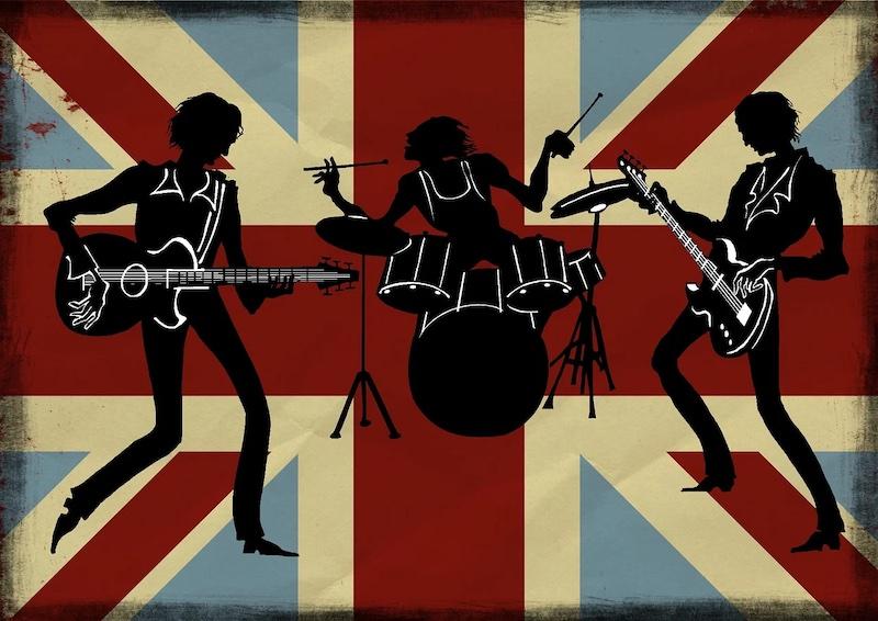 Les groupes pop et rock favoris à travers le temps